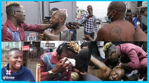 (+VIDEO) Watch The Beautiful Moment Shatta Wale Changed The Life Of A Trotro Driver