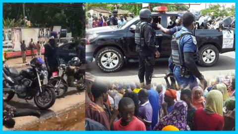 BREAKING NEWS: Armed Robbers Storm Kumasi Central Market, Steal Millions Of Cedis, Two Dead (+VIDEO)