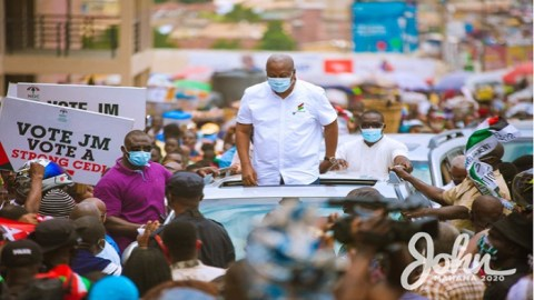 Small scale miners jailed under Akufo-Addo over galamsey will be freed if I win – Mahama