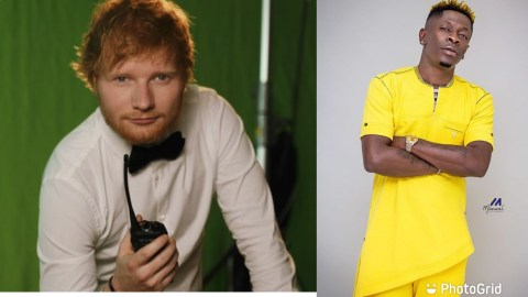 (+VIDEO) Shatta Wale Bags Another International Collabo With Ed Sheeran