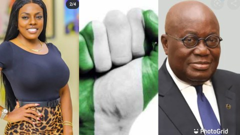 Nana Aba Anamoah Reacts After Nana Addo Finally Addresses Ongoing Crisis In Nigeria