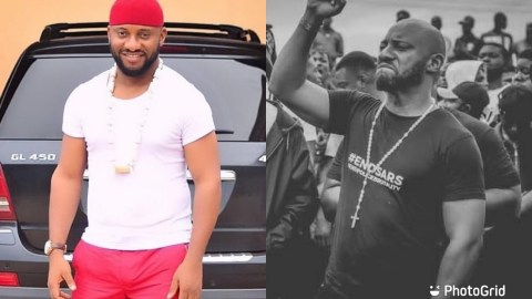 Stop Destroying Properties In The Name Of Protest – Yul Edochie Cautions Nigerian Youths