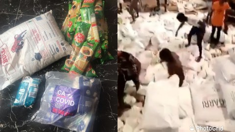 Video Of Thousands Of Food Hidden In Secret Warehouse While Nigerians Were Hungry Pops Up – WATCH