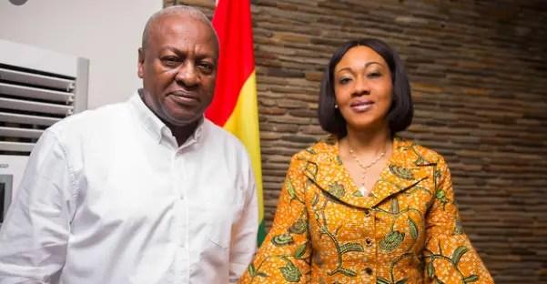 Jean Mensah and Mahama
