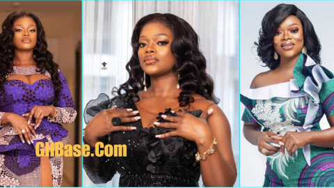 Osebo's curvy ex-wife, Ohemaa drops 4 hot photos to climax her birthday celebration