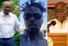 """Ghanaians must ensure that President Akufo-Addo debates Mahama"" – Kwaw Kese makes a strong call [Video]"
