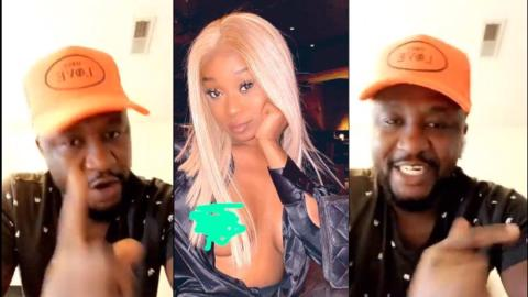 """You are a disgrace to all women"" – Archipalago scolds Efia Odo for exposing her n!pples in new photo [Video]"