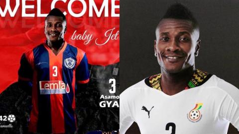 Asamoah Gyan joins Legon Cities on a four-year deal; sets to earn $1 million