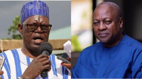"""I am supporting Mahama to rescue Ghana from the mess"" – NPP's John Ndebugri shockingly declares support for Mahama"