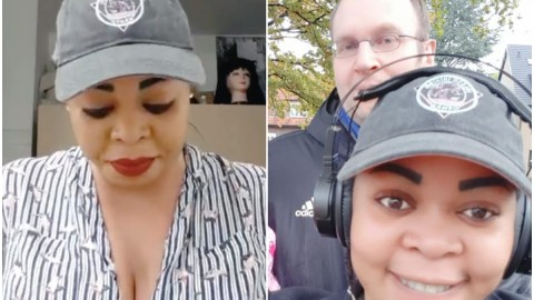 'He Bought Me My First Expensive Phone'- Joyce Dzidzor Says She Flaunts White Boyfriend For The First Time