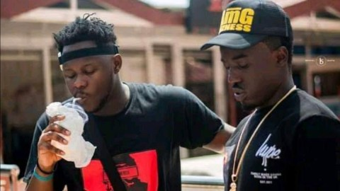 Throwback Photo: See The Moment Criss Waddle Became A Prophet And Predicted The Rise Of Medikal When He Signed Him 5yrs Ago