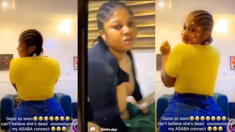 (+VIDEO) Slay Queen Reportedly Dies After Surgery To Make Her Bortos Bigger Fails
