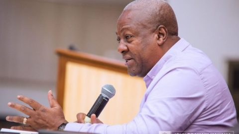 Indeed I did some mistakes in my first term. I'll be a better President in my next term – Mahama