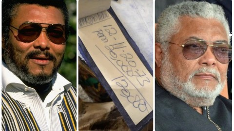 LOTTERY: Ghanaians Stake Lotto With JJ Rawlings' Death