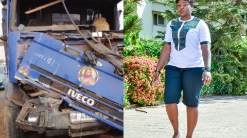 Tears Flow As Beautiful Nurse Dies After Being Knocked Down By A Tipper Truck