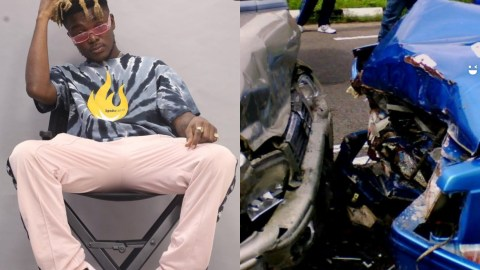 Breaking: Quamina MP Involved In An Accident, Father In Critical Condition(+VIDEO)