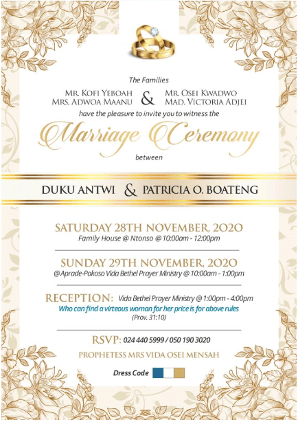 Kumawood actress Patricia Osei Boateng to tie the knot with longtime boyfriend