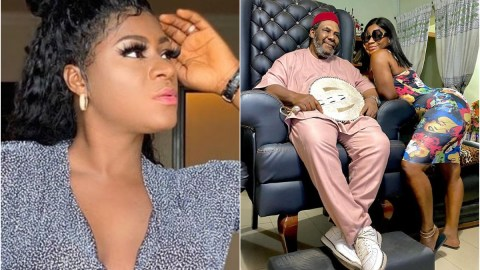 See Why Fans Are Talking About These Photos Of Destiny Etiko And Pete Edochie