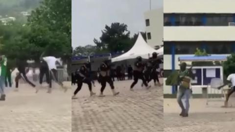Ghanaians React To Ghana Police Showing Their Preparedness For The Upcoming Elections