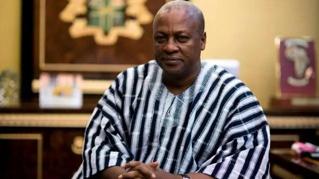 Mahama can't be president again