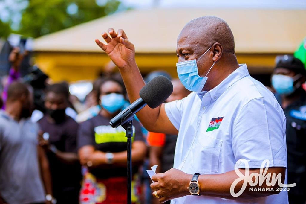 """Demonstrate but do it peacefully"" – Mahama to NDC supporters"