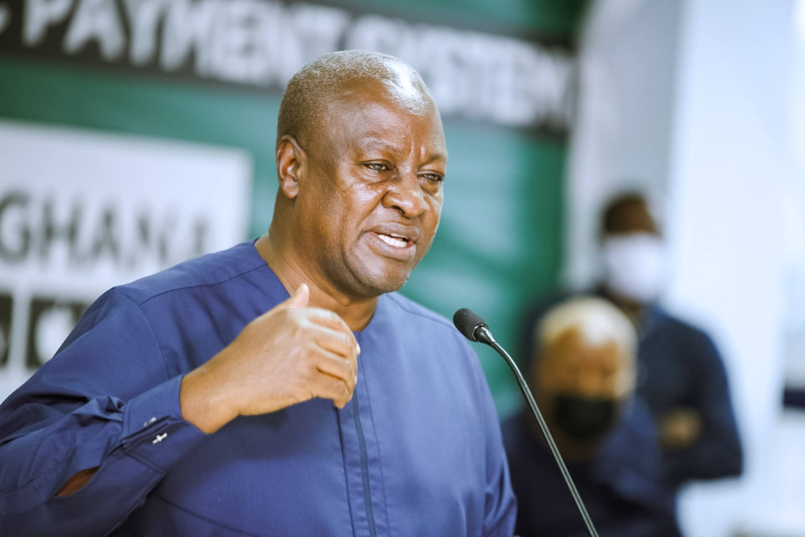 """All election figures must be independently audited because the EC is incompetent"" – Mahama demands"