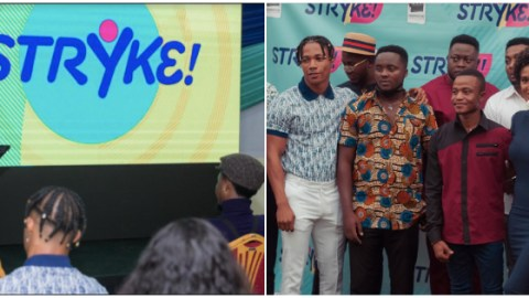 "Farmhouse Productions Launches Another Mega Tv Series Dubbed ""STRYKE"" (+ Photos"