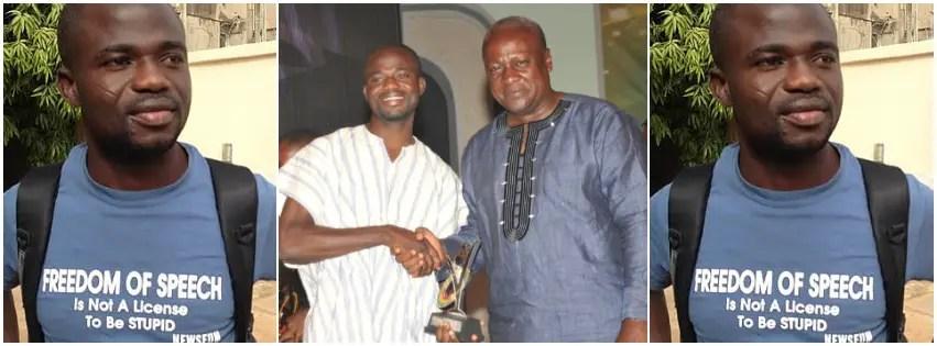 Manasseh Azure and Mahama