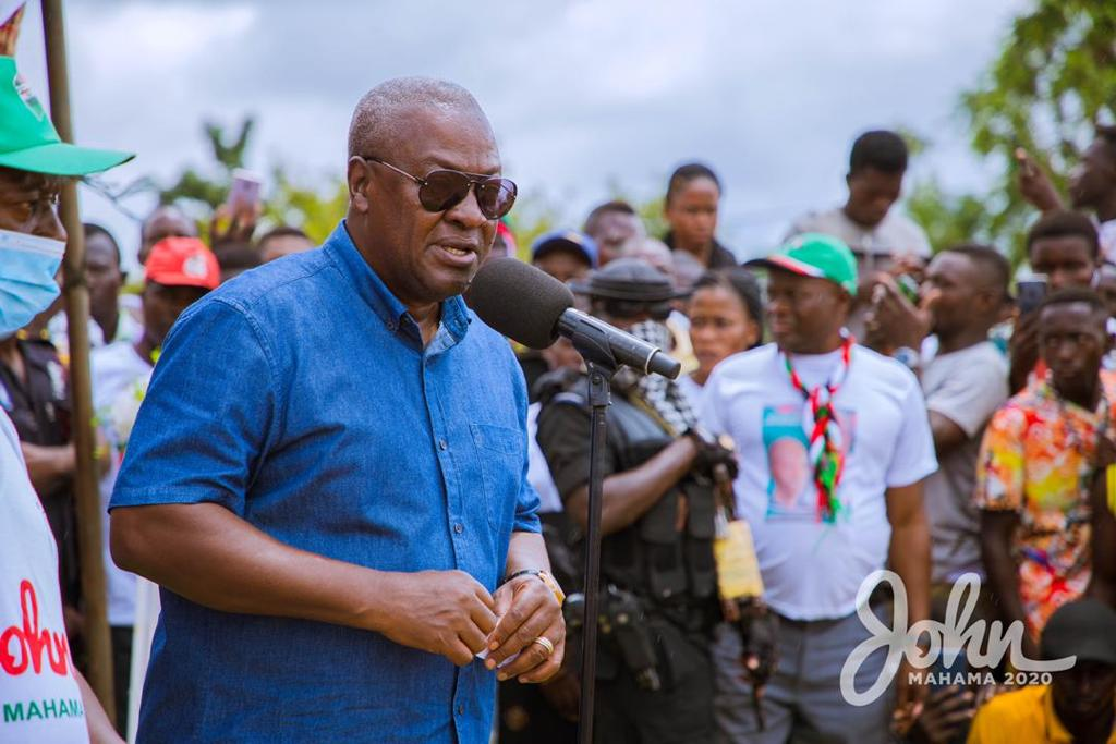 Disgruntled flagbearer of the National Democratic Congress (NDC) John Dramani Mahama has said he is not going to do anything that will destroy the hard-earned peace and stability of Ghana.