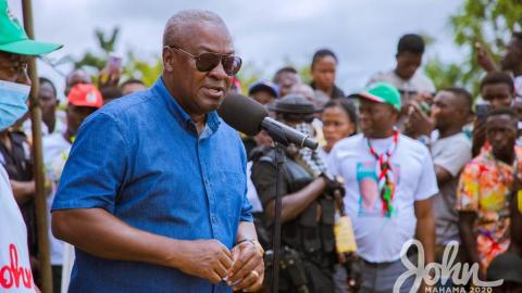 """I will not destroy the peace of Ghana. I just need justice"" – Mahama speaks amidst several party protests [Video]"