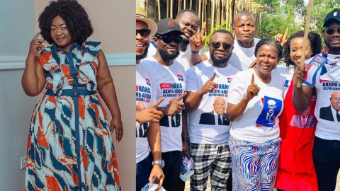 (VIDEO)I'm Disappointed In The Actors Who Campaigned  Against John Dumelo – Christiana Awuni