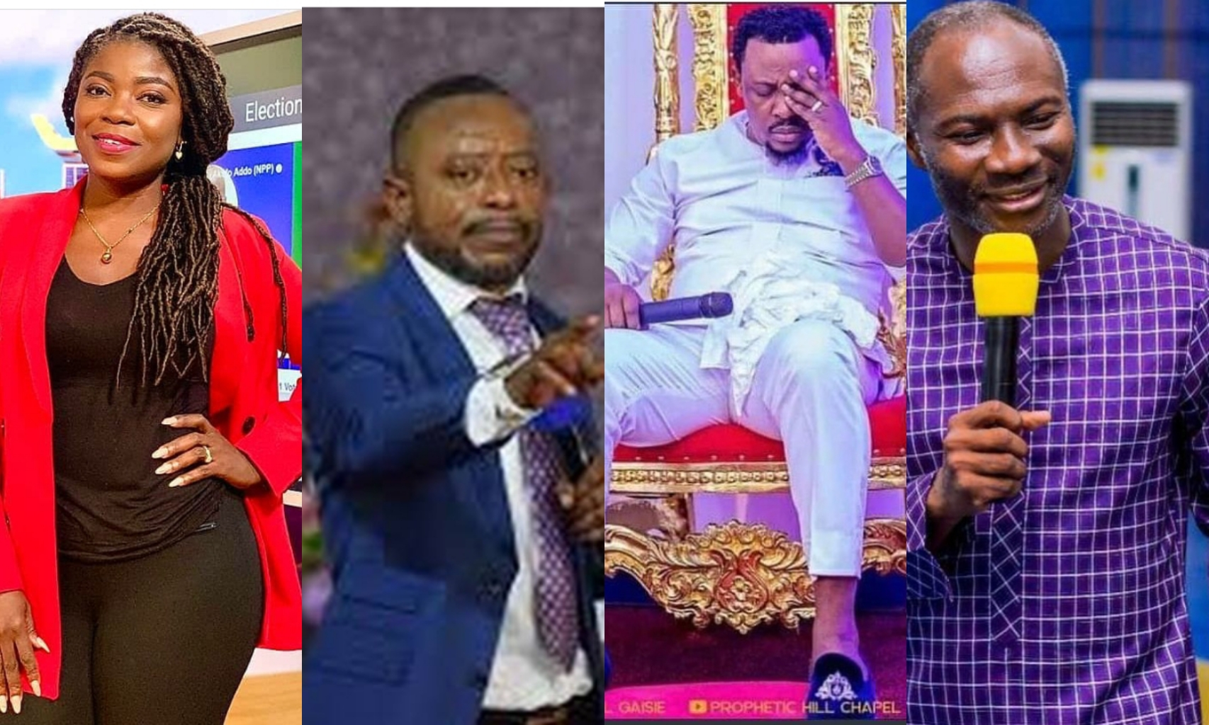 """""""Look At A Woman With Masculine Features, Who Also Speaks Nonsense""""- Rev Owusu Bempah"""
