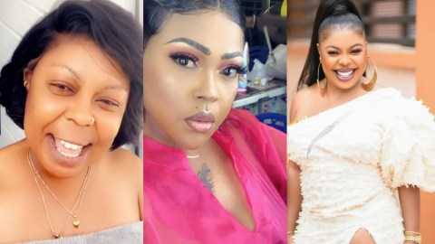 (VIDEO) Afia Schwarzenegger And Mona Gucci Dirty Each Other As Mona Spill Secrets About Afia's House And More…