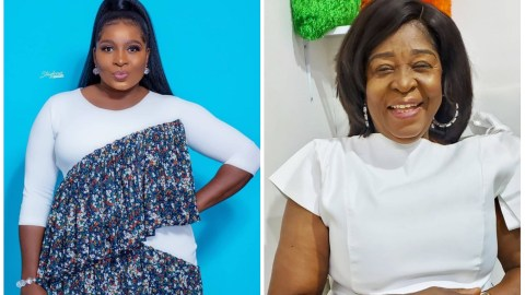(+VIDEO) Gloria Sarfo Marks Her Mother's 65th Birthday With A Beautiful Message – See What She Wrote