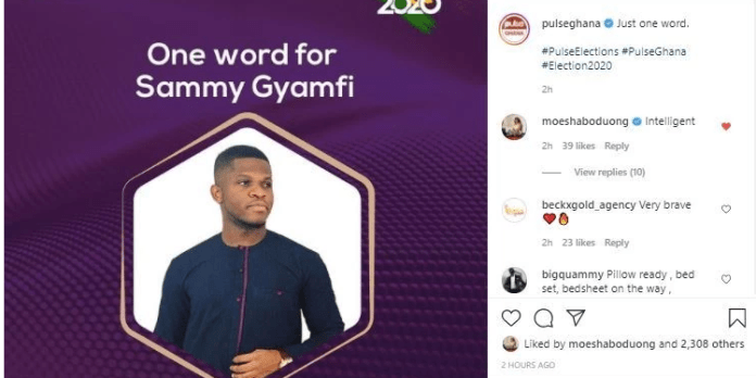 Sammy Gyamfi is intelligent – Moesha Boduong