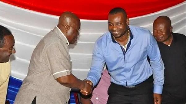 Chairman Wontumi and Akufo Addo