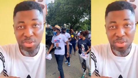 Celebrities campaigning against John Dumelo are hypocrites. They're doing it for the money – Kwame A Plus [Video]