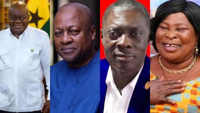 Ghana Election 2020: Election Results Of All Presidential Candidates