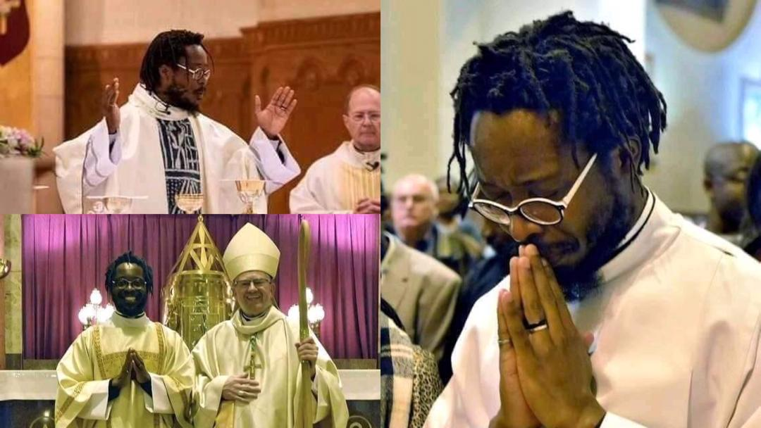 Ordination of man with dreadlocks as Catholic priest generates heated debate online [Photos]