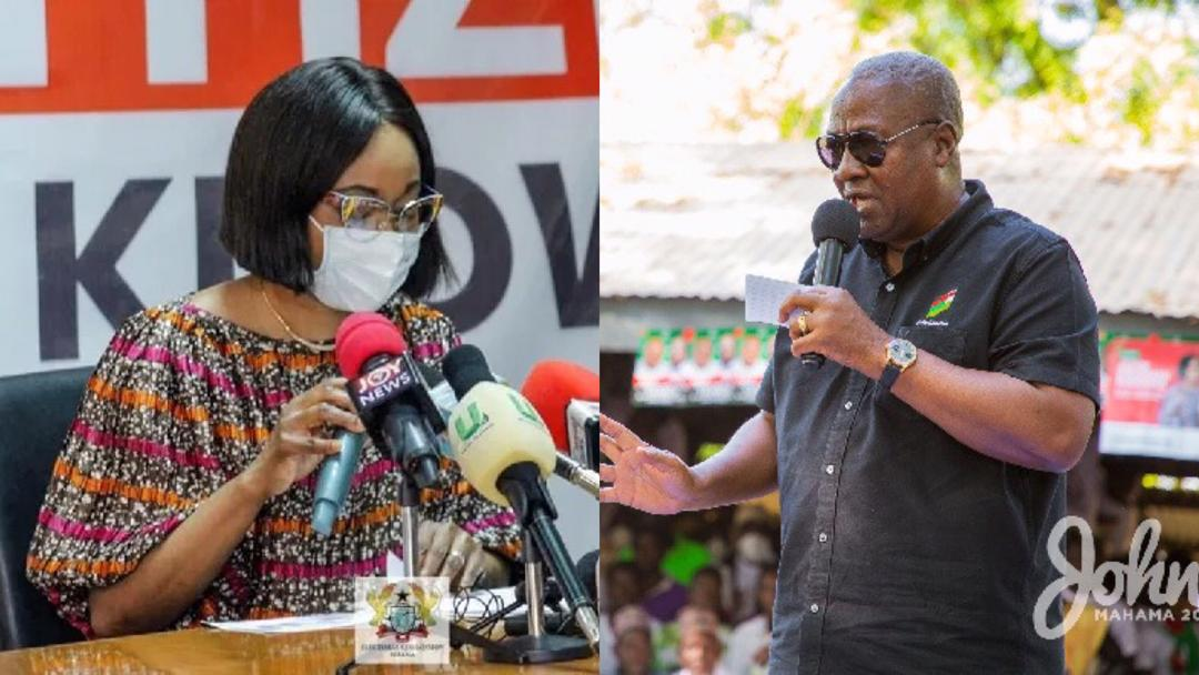 EC replies NDC over claims that the 2020 Election was rigged