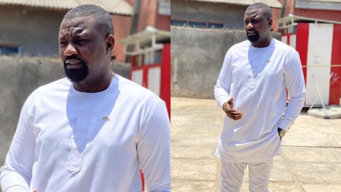 Ghanaians who trolled John Dumelo for losing in the election beg him for Christmas gifts