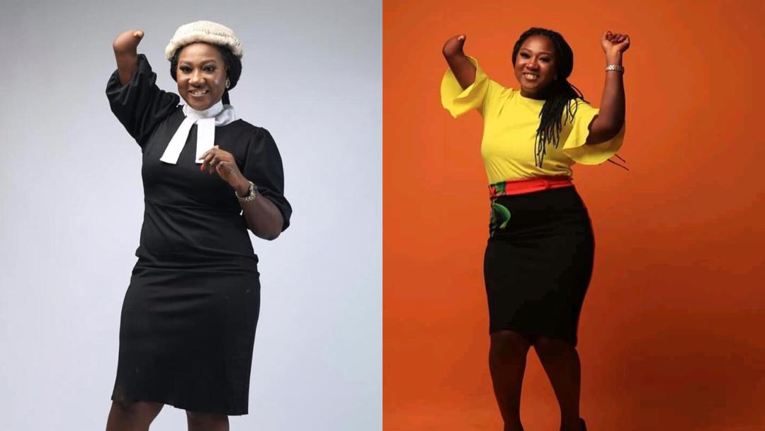 Despite her disability, she defied all odds to become a lawyer - Story of Jennifer Nikoro