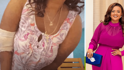 Nana Ama McBrown Involved In Accident; Goes For Another Surgery (+Video)