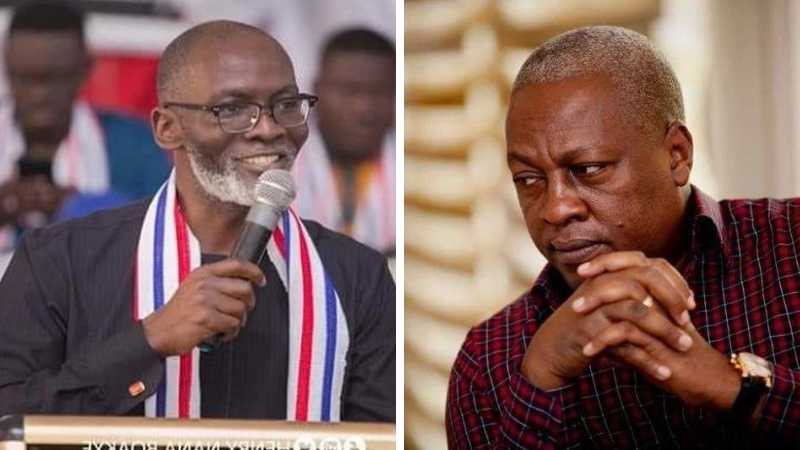 Gabby Otchere-Darko advises Mahama to concede defeat but receives harsh replies from NDC supporters
