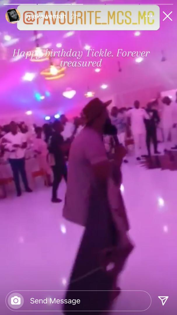 Fadda Dickson And Wife Of Late Kwadwo Wiafe Solemnly Celebrates Him On His Birthday