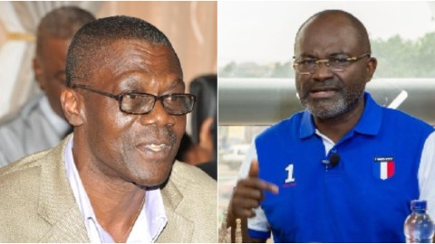 'Any Man Born Of A Woman Cannot Overturn The Decision Of The EC'- Kennedy Agyapong Tells NDC's Former Soldier, Gbevlo Lartey
