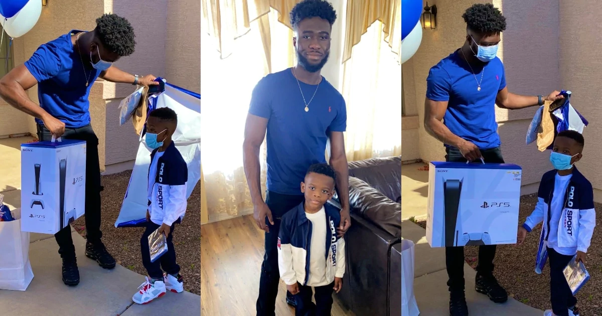 Dad buys PS5 for young son on birthday for beating cancer twice