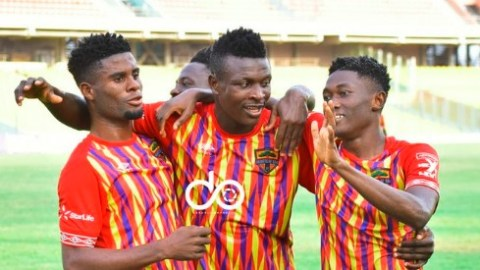Accra Hearts Of Oak secure an emphatic 6-1 victory over league leaders Bechem United