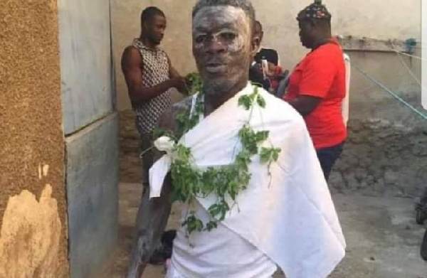 Augustine Sefah now a fetish priest