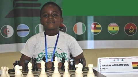Dave Acheampong: 8-year-old becomes first Ghanaian to win Africa Under-9 Chess Championship
